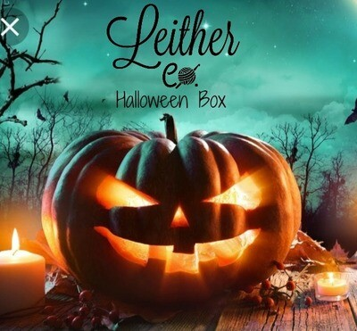 13 Days of Halloween Yarn Box