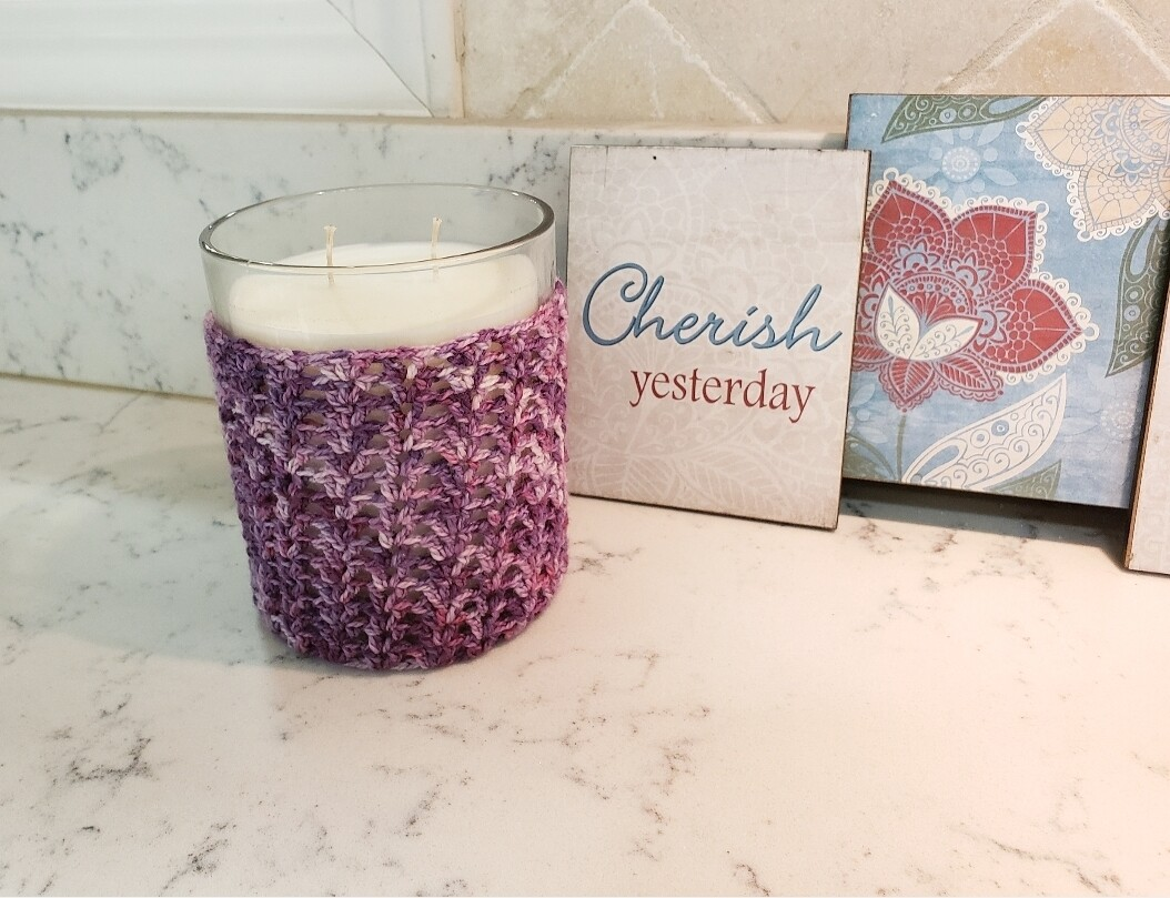Galaxy Candle Cozy Crochet Pattern