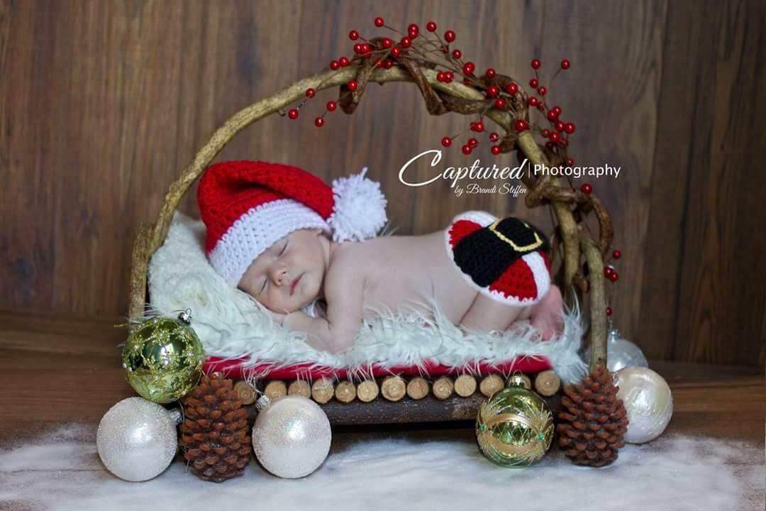 Santa Baby Crochet Pattern