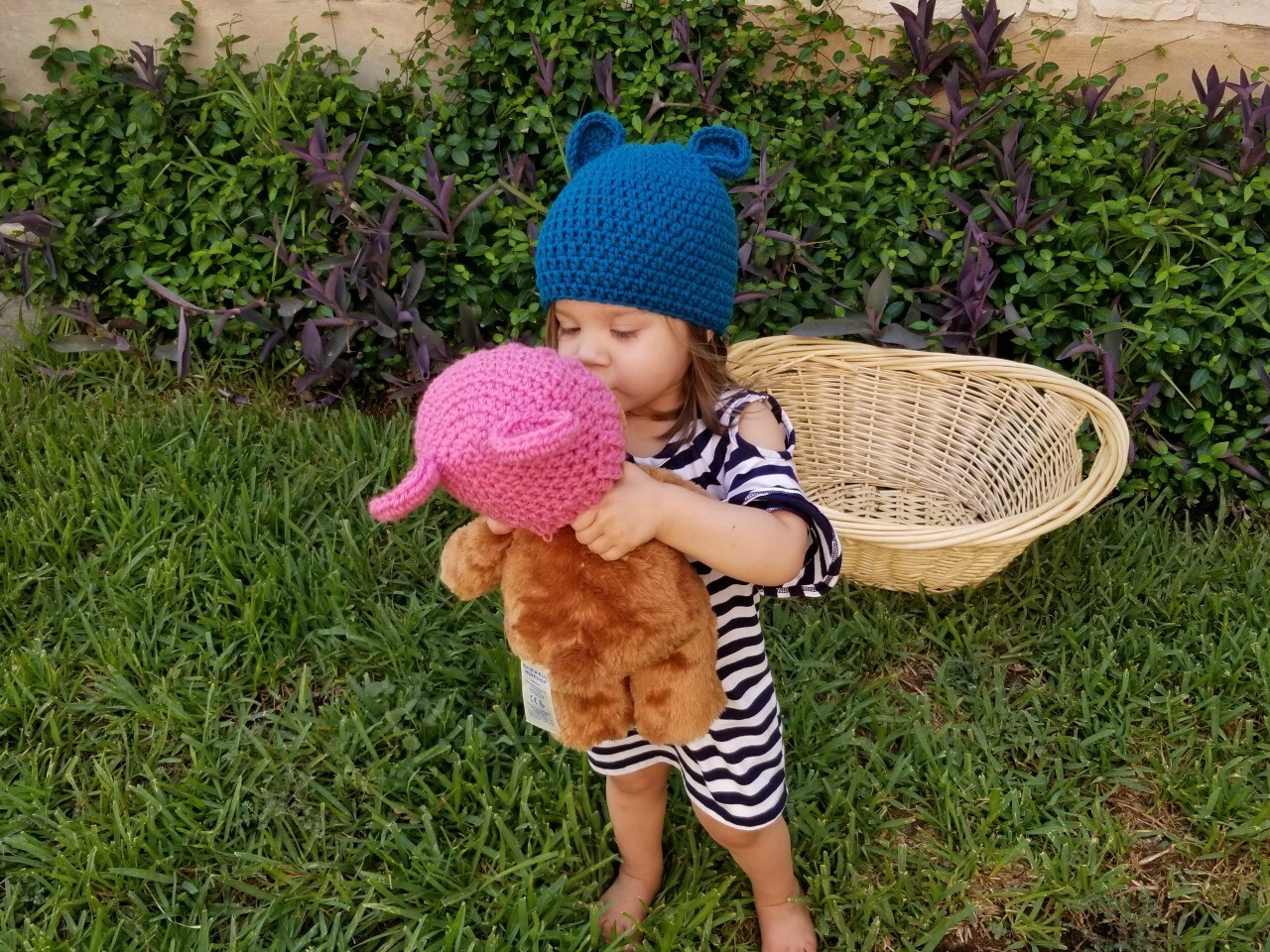 Simplicity Bear Beanie Crochet Pattern