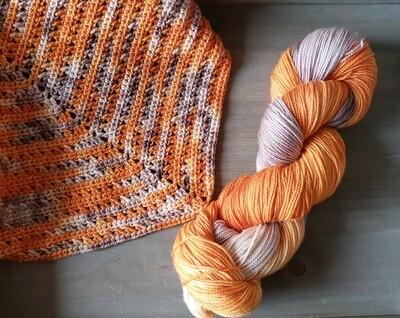Autumn Shawl Crochet Kit