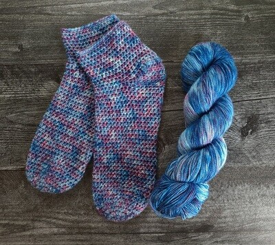 Ready to Ship Simplicity Socks Crochet Kit