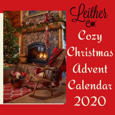 Cozy Christmas Advent Calendar Yarn Box