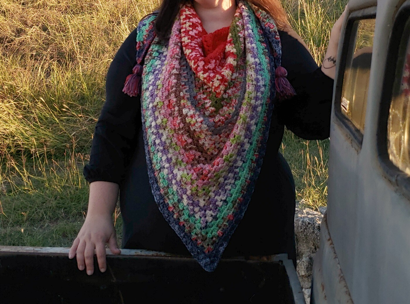 Christmas Shawl Crochet Kit Pre-Order
