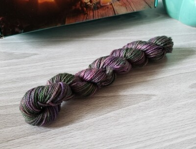 Witches Brew Hand Dyed Yarn