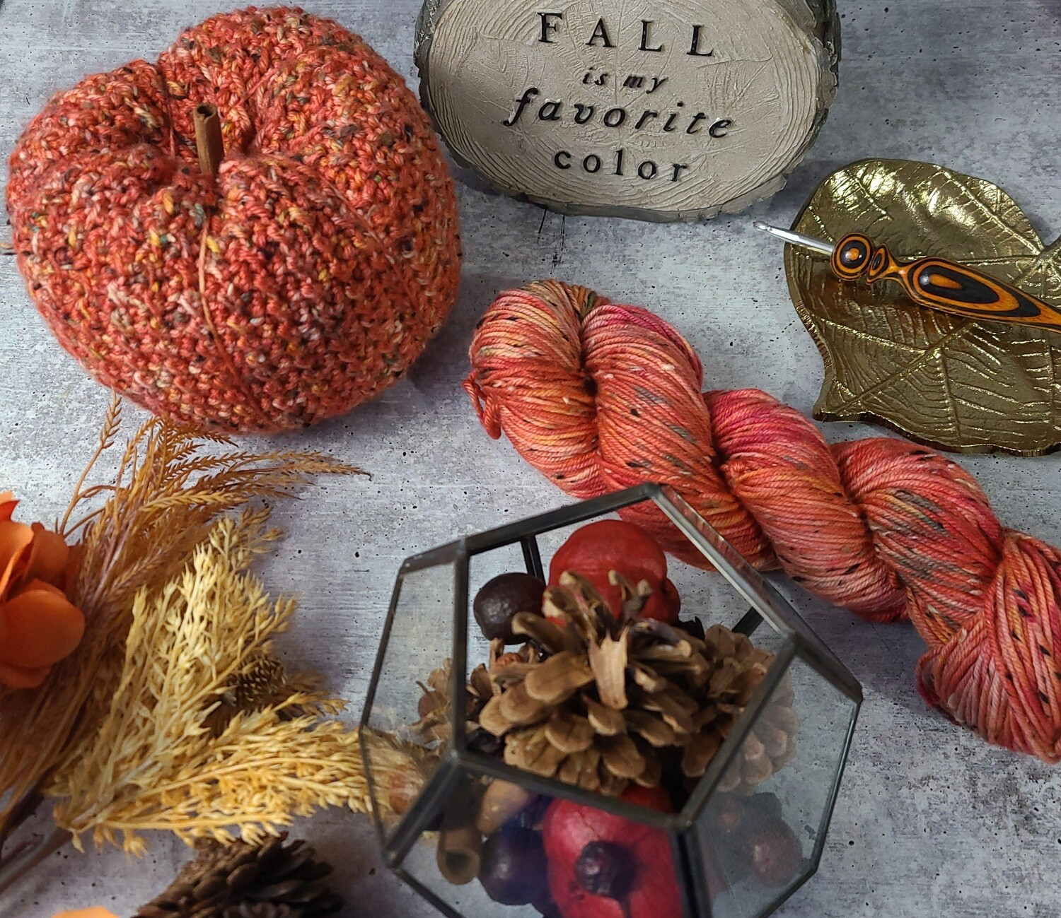 Countryside Pumpkin Crochet Kit