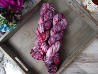 Dracula Hand Dyed Yarn