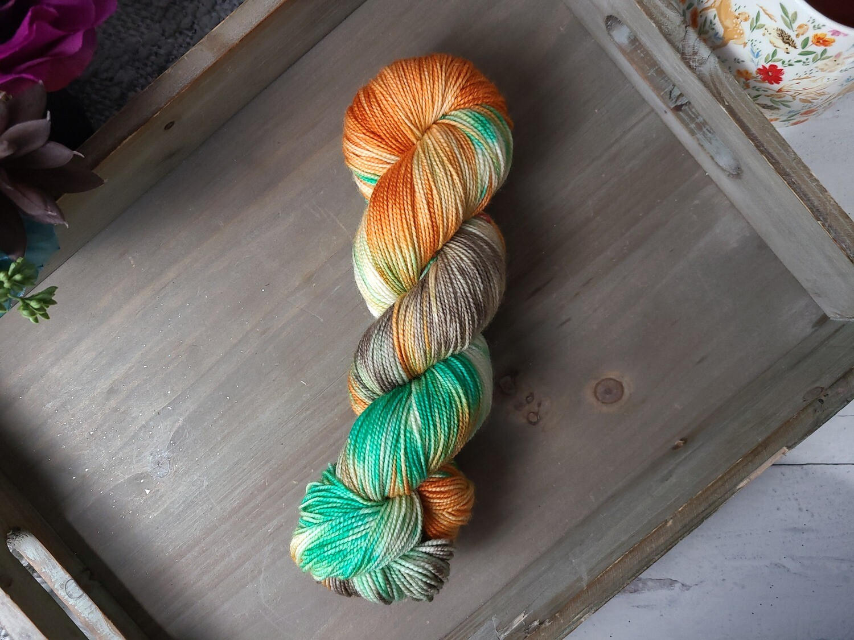 Caribbean Hand Dyed Yarn