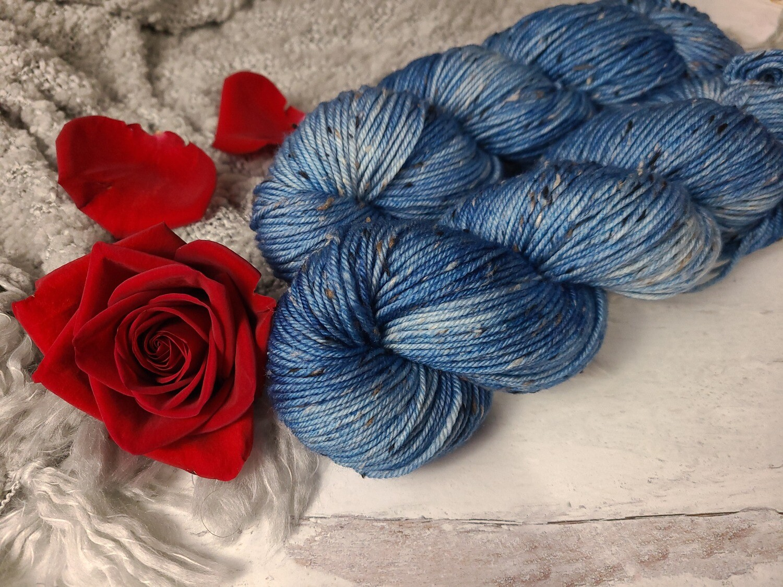 Enchanted DK Tweed Hand Dyed Yarn