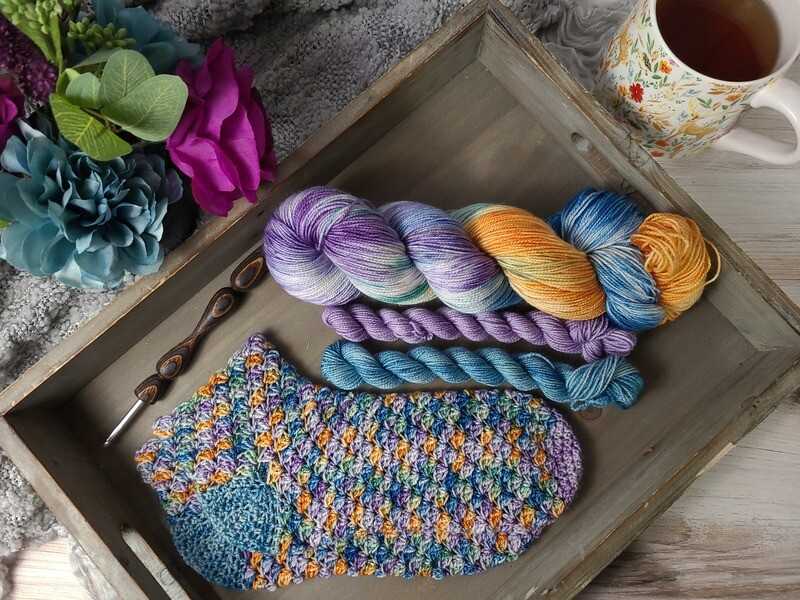 Sleepy Hollow Socks Crochet Kit
