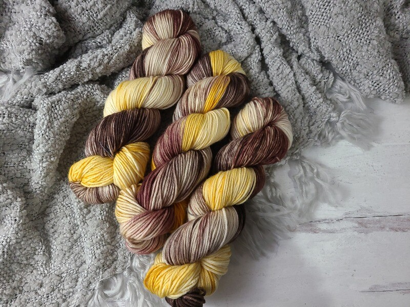 Campfire (DK) Hand Dyed Yarn Ready to Ship