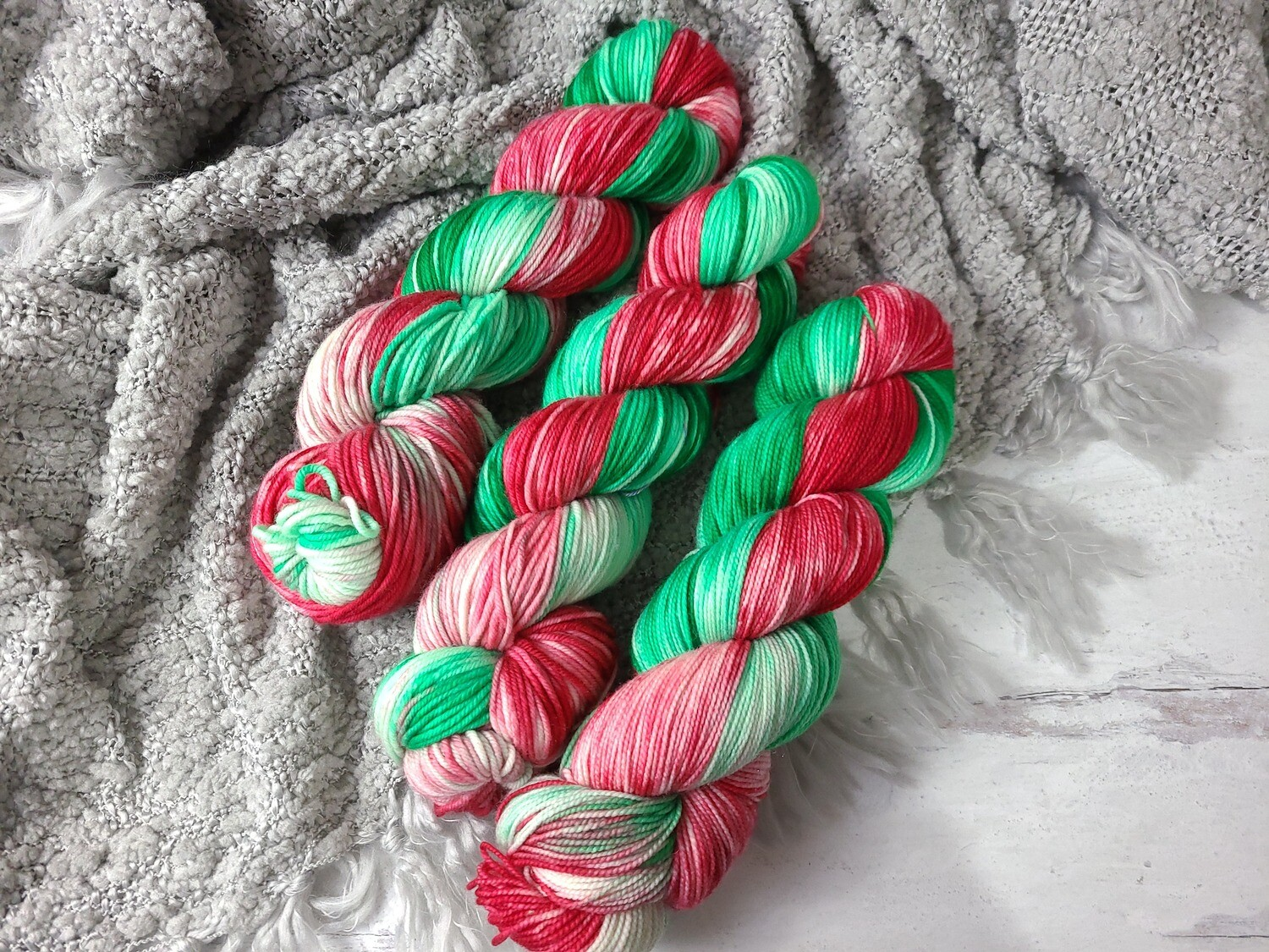Christmas Presents (Sock and DK) Hand Dyed Yarn Ready to Ship
