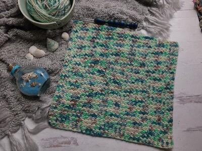 Square #8 Fiji Crochet Square (Destination Blanket)