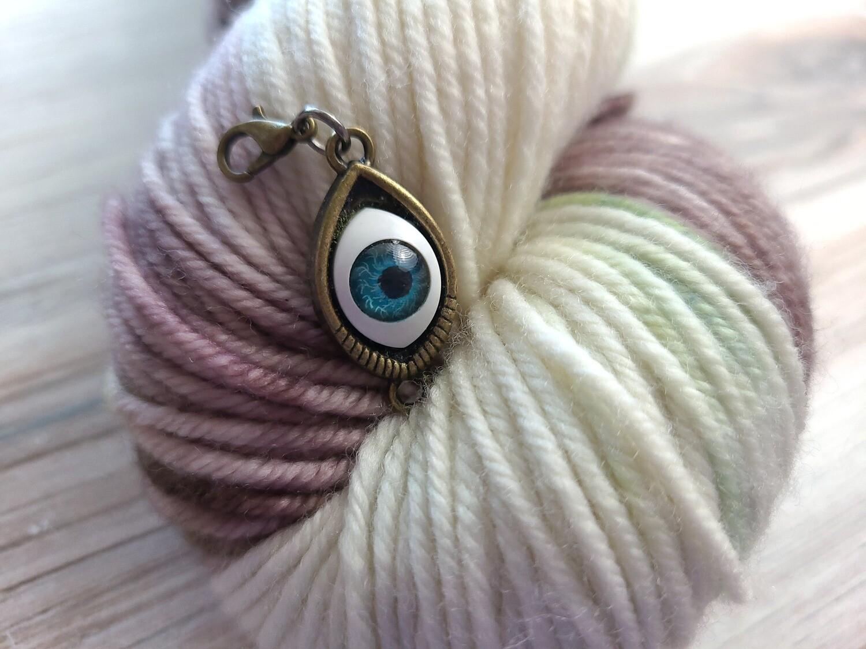 Hocus Pocus Eye Stitch Marker