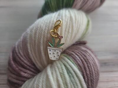 Succulent Stitch Marker