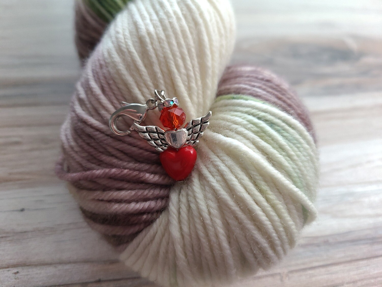 Red Heart Angle Stitch Marker