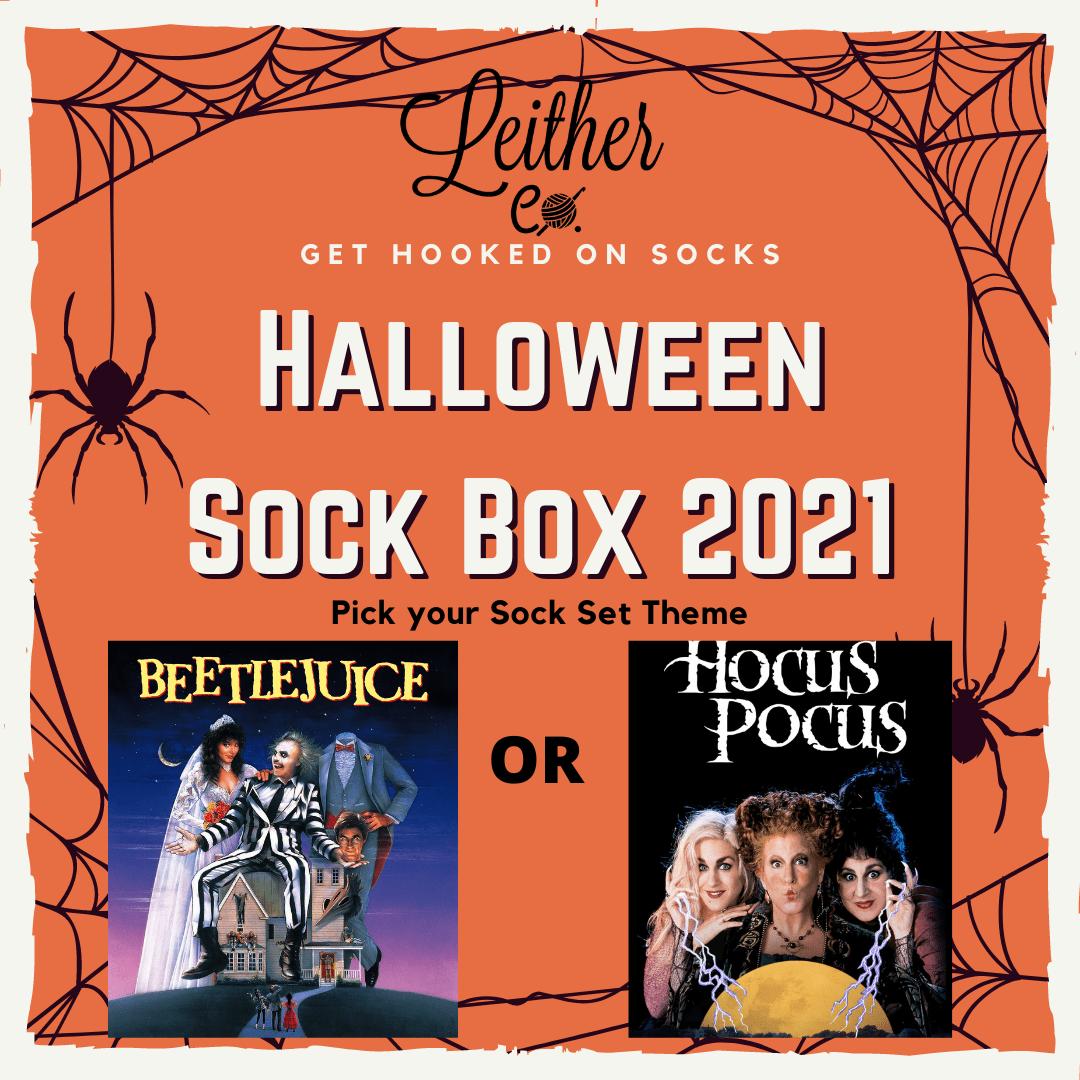 Halloween Sock Box 2021