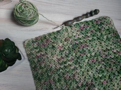 Square #10 Ireland Crochet Square (Destination Blanket) PDF