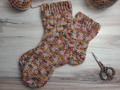 Egypt Socks Crochet Kit