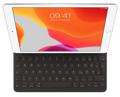 Apple Smart Keyboard für iPad 10.2 (7. Generation) und iPad Air (3. Generation) – Deutsch