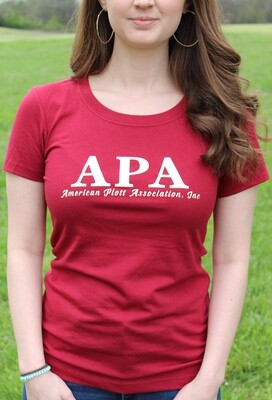 Women's Maroon T Shirt