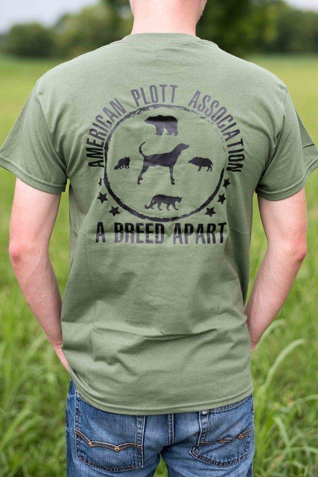 Hunter Green Field T Shirt