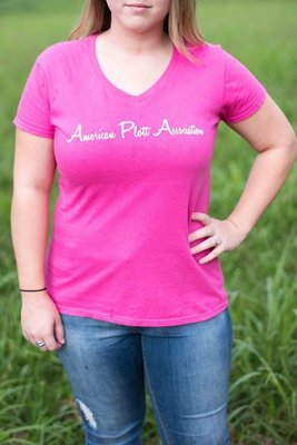 Women's Pink T- There's nothing hotter than a Plott
