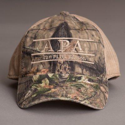 Camo mesh back hat