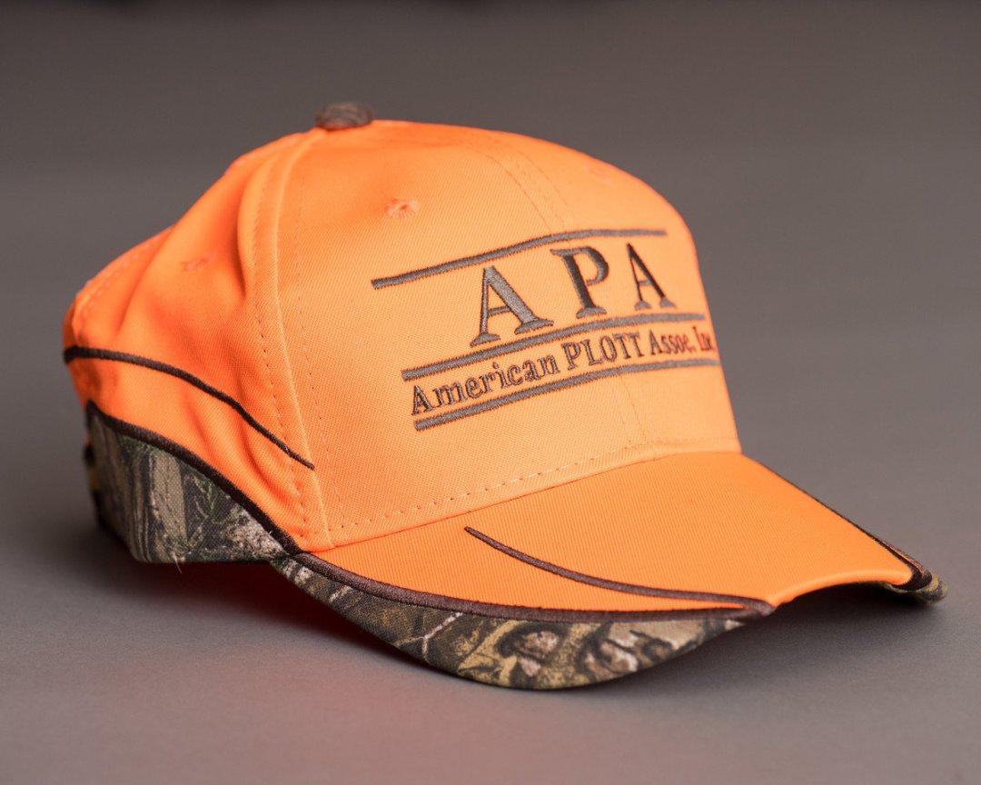 Orange hunters hat