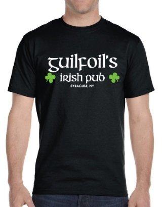 Black Guilfoil's Logo T-Shirt
