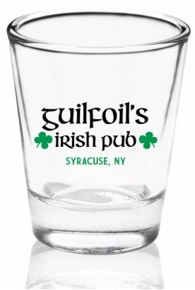 Guilfoil's Logo Shot Glass