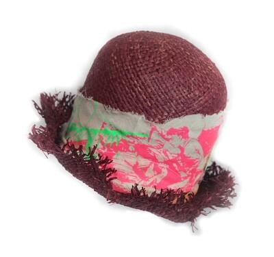 Jabberwocky Dead straw hat