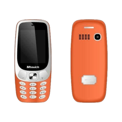 هاتف ام تاتش اكس فور بأربع شرائح إتصال - شاشه 2.4 بوصه - أسود