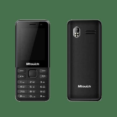 هاتف ام تاتش كيو2 بشريحتى إتصال - شاشه 2.4 بوصه - أسود