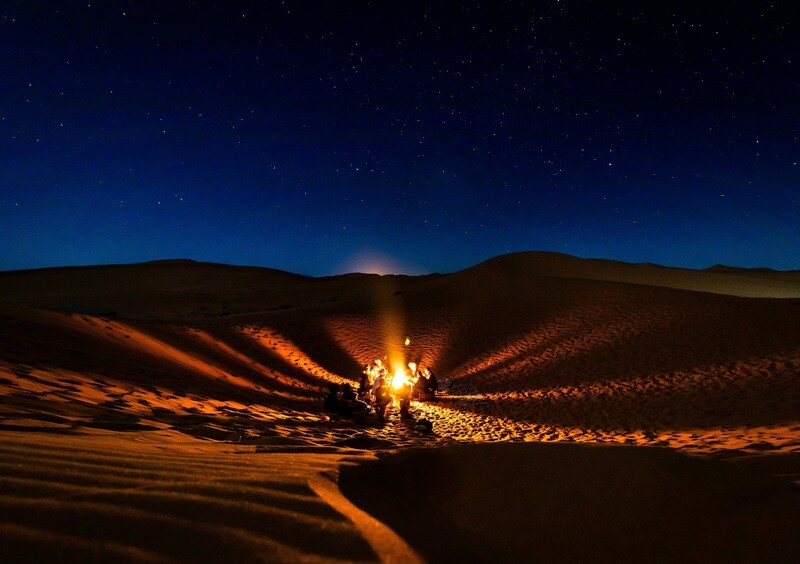 8-day Wild Search for Adventure Series - Desert Fire 10-18th May 2021; $1000 deposit