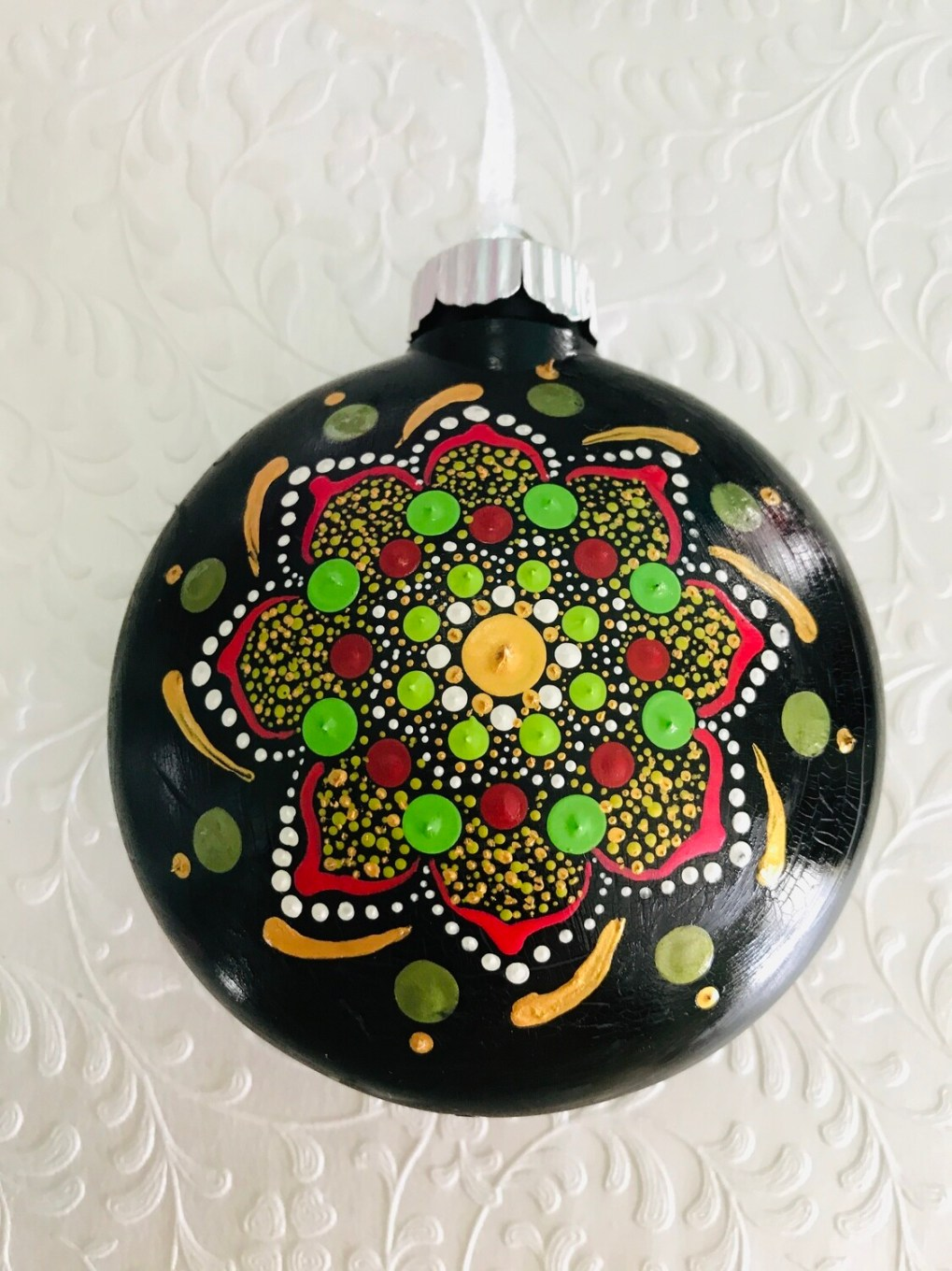 Christmas Ornament - Red and Green