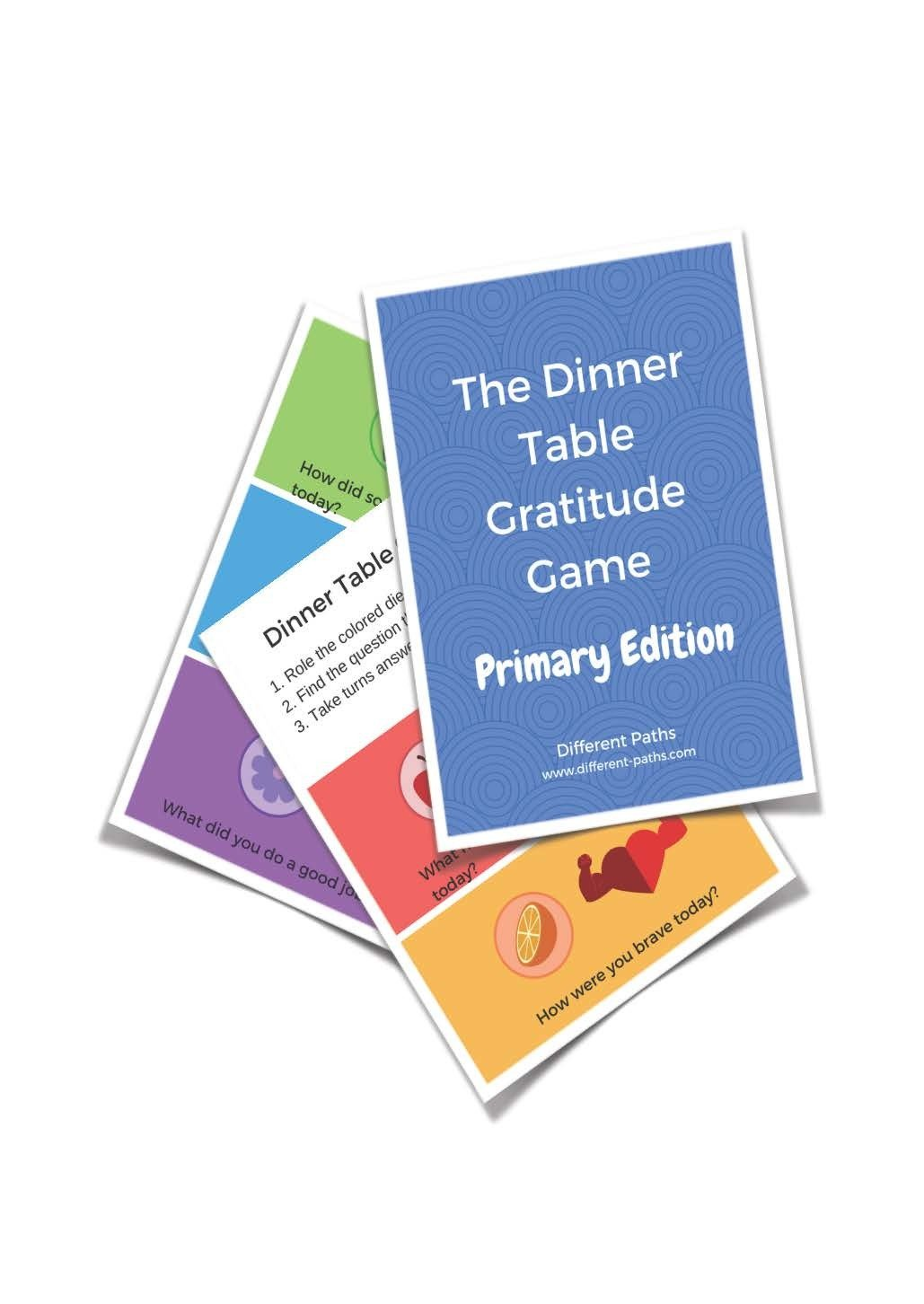 Gratitude Game- Primary Version