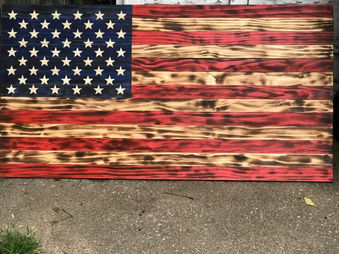 Full On 'Merica Stars and Stripes Flag XL