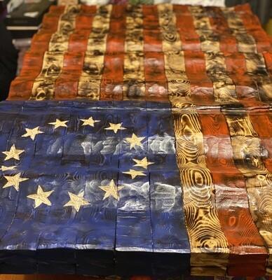 Full On America Waving Flag