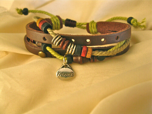 FRIENDSHIP bracelet ~ NaturalSoul, sorrel