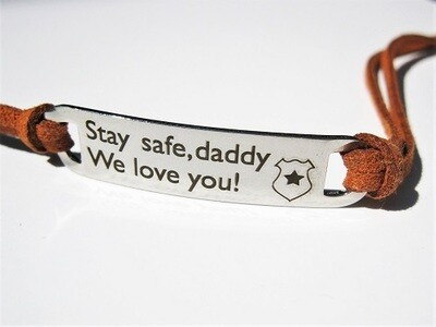 Safety jewellery - gift for Daddy