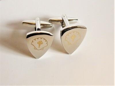 sAfe Jewellery - Travellers Shield cufflinks