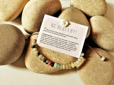 Health Bands - bracelet for Good Health ~ Amazon stone