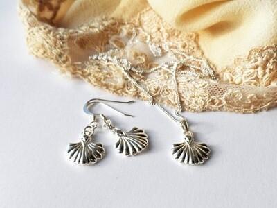 Camino de Santiago necklace + earring set