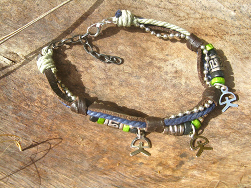 Indalo NaturalSoul bracelet ~ lucky trio