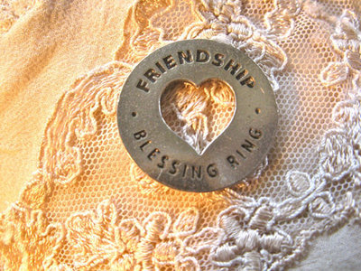 Friendship blessing ring