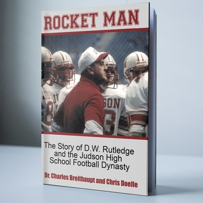 Rocket Man book