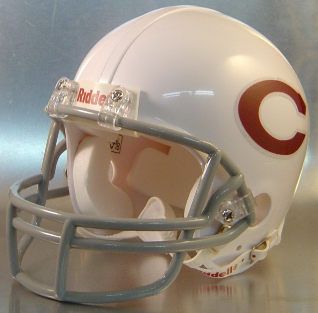Beaumont Central Jaguars HS 1986 (TX) - mini-helmet