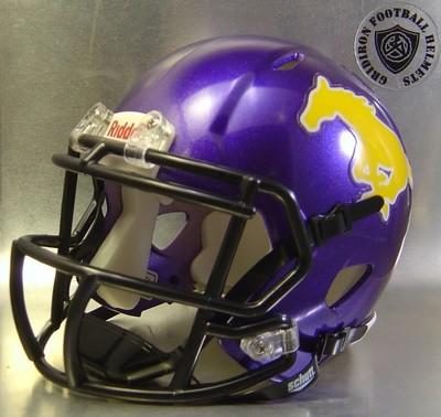 Burges Mustangs HS 2015-2016 (TX) - mini-helmet