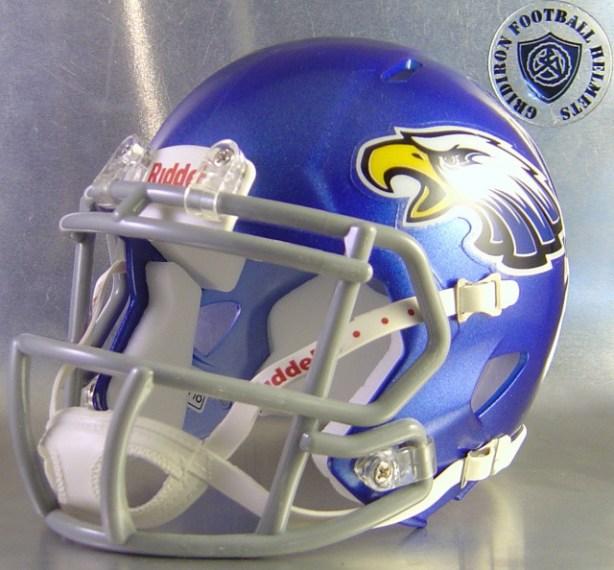 Castle Hills First Baptist Eagles HS 2013-2015 (TX) - mini-helmet